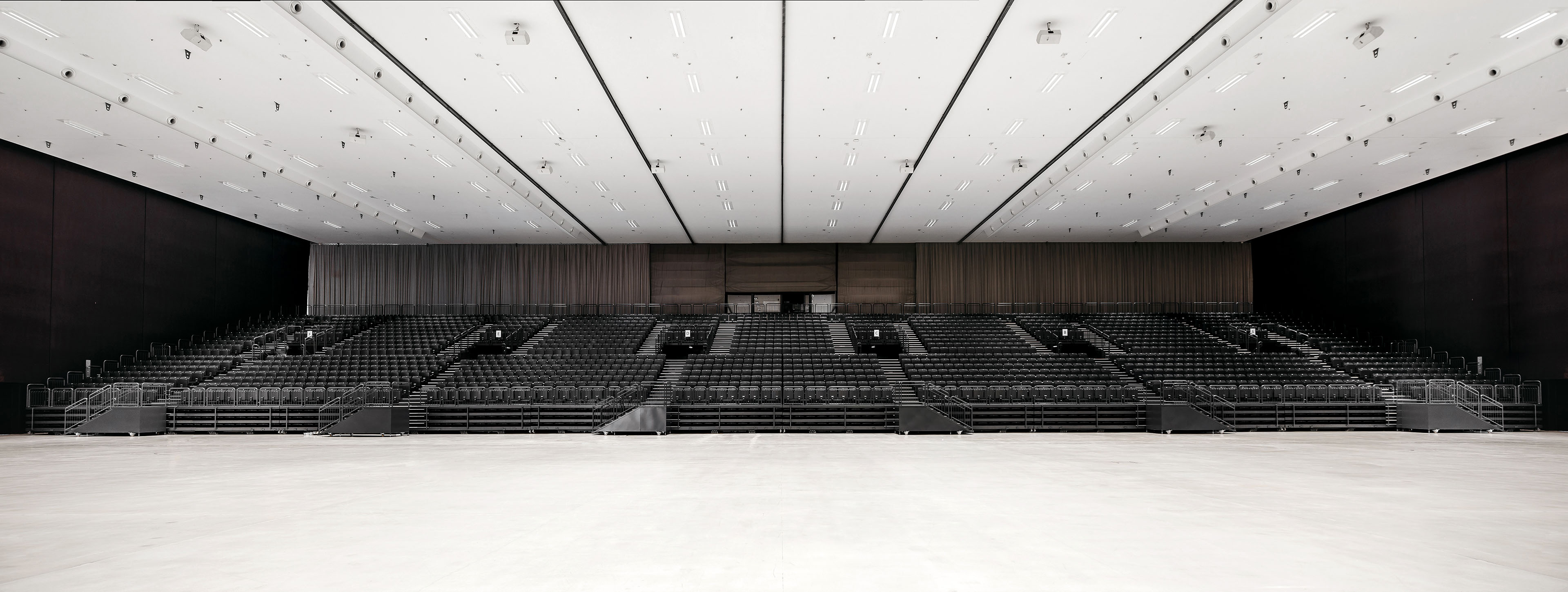 Auditorium seating systems